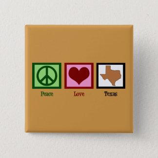 Fredkärlek Texas Standard Kanpp Fyrkantig 5.1 Cm