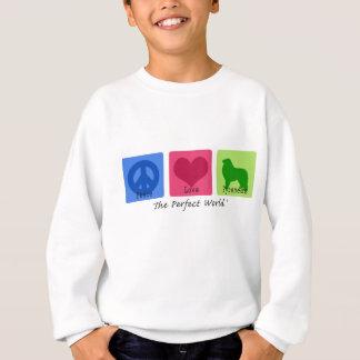 Fredkärlek underbara Pyrenees T-shirt