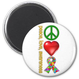 Fredkärlekmedvetenhet Magneter För Kylskåp