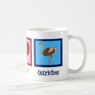 FredkärlekOstriches Kaffemugg