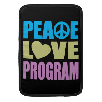 Fredkärlekprogram MacBook Sleeve