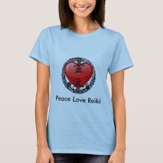 FredkärlekReiki-alternativ 2 T-shirt