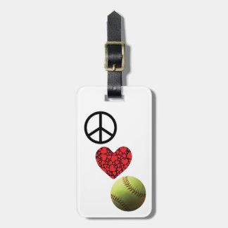 Fredkärleksoftballet tappar bagagebricka