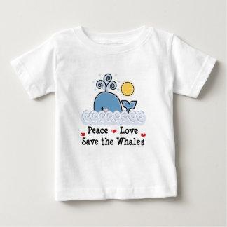 Fredkärlekspara valbabyT-tröja Tshirts