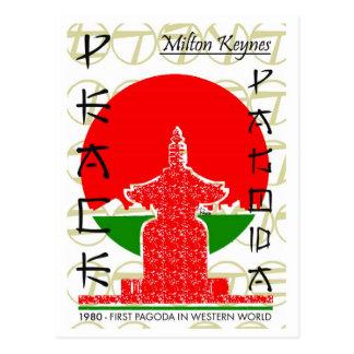 FredPagoda av den västra vykortet Vykort
