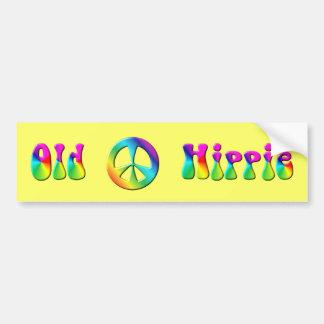 Fredstecken för Hippie för KRW-regnbåge gammal Bildekal