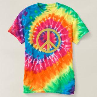 Fredstecken - spiral Tie-Färg T-tröja Tshirts