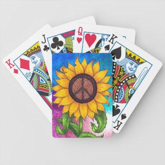 Fredsteckensolros nr. 2 spelkort