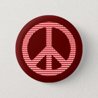 Fredsymbol Standard Knapp Rund 5.7 Cm
