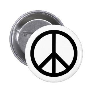 Fredsymbolet (skurkroll) knäppas standard knapp rund 5.7 cm