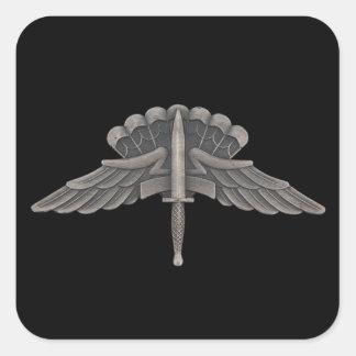 Freefall (GLORIA) Fyrkantigt Klistermärke