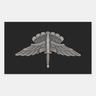 Freefall (GLORIA) Rektangulärt Klistermärke