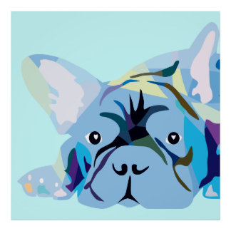 Frenchie affisch poster