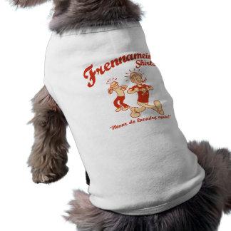 Frennameins skjortor långärmad hundtöja