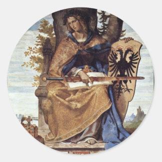 Fresco i platsen för Stadel instituträtsida Klistermärke