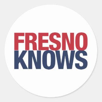 Fresno vet runt klistermärke