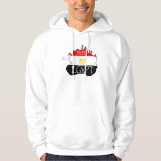 Fri egyptenHoodie Sweatshirt Med Luva