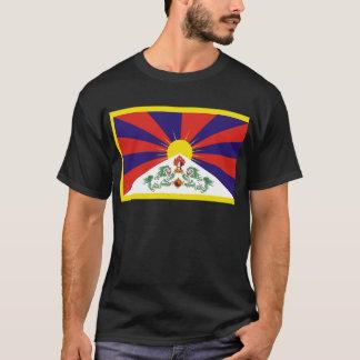 Fri Tibet flagga Tee Shirt