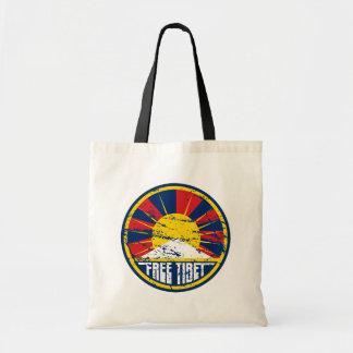 Fri Tibet rundaGrunge Tygkasse