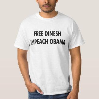 Fria Dinesh Impeach Obama Tshirts