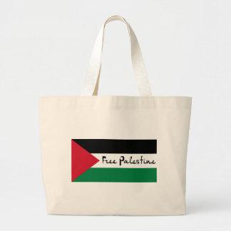 Fria Palestina - فلسطينعلم - palestinsk flagga Jumbo Tygkasse