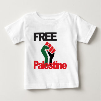Fria Palestina - فلسطينعلم - palestinsk flagga Tee