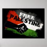 Fria Palestina Affisch
