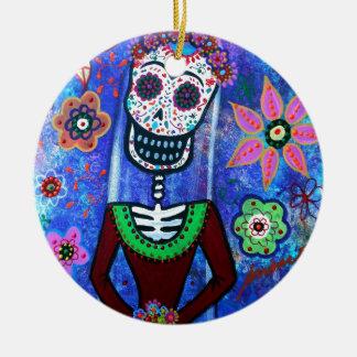 Frida Brida day of the dead Julgransprydnad Keramik