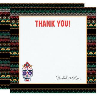 Frida Kahlo | Diameter De Los Muertos - tack Fyrkantigt 13,3 Cm Inbjudningskort