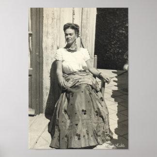 Frida Kahlo i sol Poster