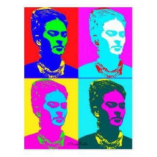 Frida Kahlo inspirerat porträtt Vykort