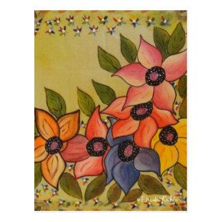 Frida Kahlo målade Flores Vykort