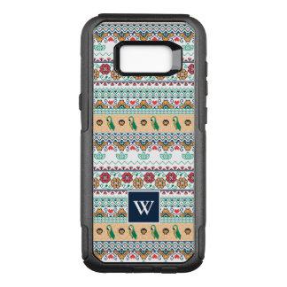 Frida Kahlo | Patrón de Colores OtterBox Commuter Samsung Galaxy S8+ Skal