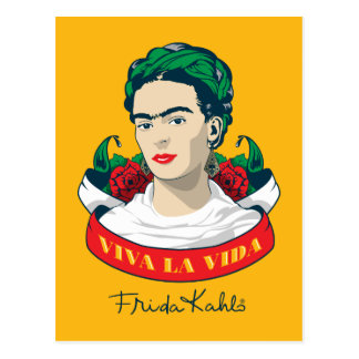 Frida Kahlo | Viva la Vida Vykort