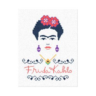Frida Kahlo   Viva Mexico Canvastryck
