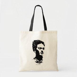 Frida skuggar porträtt budget tygkasse