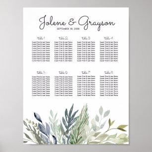 dc828d629dc4 Fridfull botanisk placering för bröllop för   poster