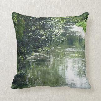 Fridfullt flöda för flod kudde