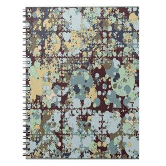 Fridsam explosionanteckningsbok - blått anteckningsbok