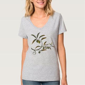 Fridsam olivgrön lövgrenT-tröja T Shirts