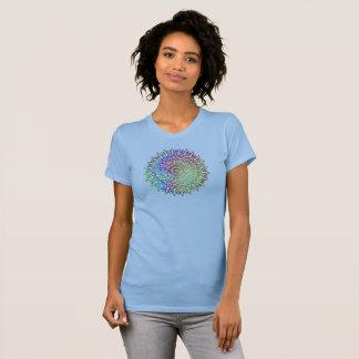 Fridsam utslagsplats - geometrisk design tröja