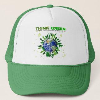 Fridsamt planet: Tänkagrönt Keps