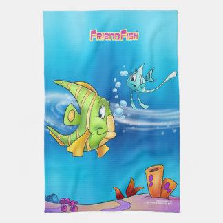 FriendFish handduk Kökshandduk