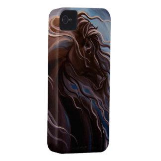 Friesianhäst iPhone 4 Case