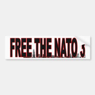 FRIGÖR bildekalet för NATO 3 Bildekal