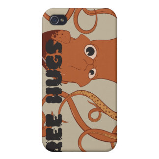 Frigör fodral för kramtioarmad bläckfiskiPhone 4 iPhone 4 Fodral