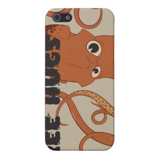 Frigör fodral för kramtioarmad bläckfiskiPhone 4 iPhone 5 Skal