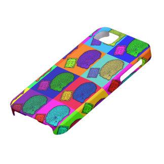 Frigör konst Popart för popet för kramigelkotten iPhone 5 Case-Mate Cases