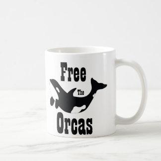 Frigör orcasna kaffemugg
