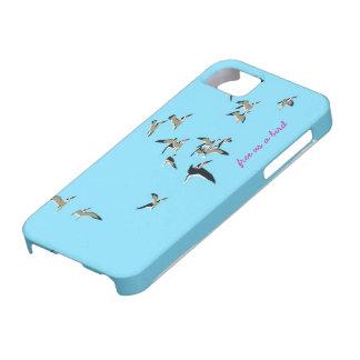 Frigör som en fågel iPhone 5 fodraler